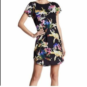 Yumi Kim Dress Size XS Floral Sheath Mini Lined